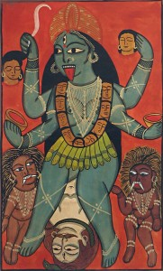 old-painting-of-kali-CE04_l wielorękiej
