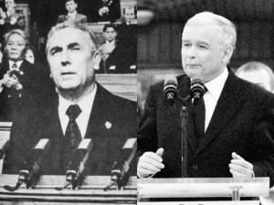 PRL Gierek i J Kaczyński