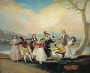 Obraz tańczących Franciso Goya