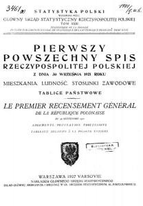 Statystyka. Tablice_państwowe-Polska_spis_powszechny_1921.pdf GUS I GUS