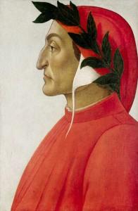 Portrait_de_Dante Alighieri by Sandro Boticelli