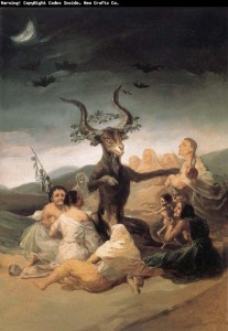 Sabat czarownic The Witch's Sabbath, Francisco Goya