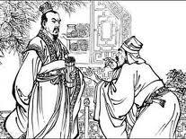 Mandaryn przyjmujący petenta