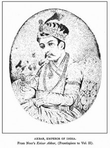 Akbar, Emperor of India, 1542 -1605