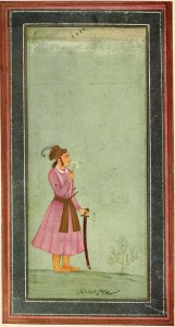 Młody Akbar, Emperor of India, 1542 - 1605