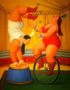 Botero, Malabarista_y_contorsionista_Fernando_Botero