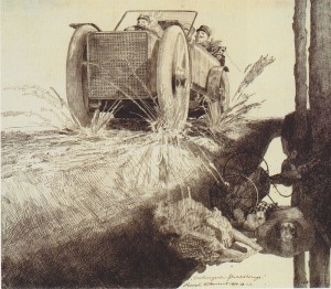 Klemens_Brosch_Verhungerte_Flüchtlinge 1916 Public domain