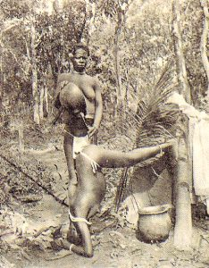 Lewatywa Kongo 19 wiek, autor nieznany, public domain